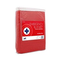 First Aid Blanket - Red