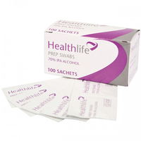 Pre-injection Swabs / Wipes (100)