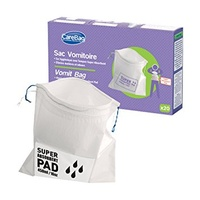 Carebag Vomit Bags with Absorbent Core (Pack x20)