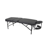 Portable Massage Table – Black