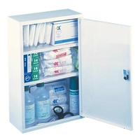 Single First Aid Cabinet - Complete