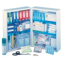 Double First Aid Cabinet - Complete