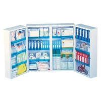 Triple First Aid Cabinet - Complete
