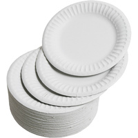 Paper Plates White 7 180mm (10 x100 Plates)