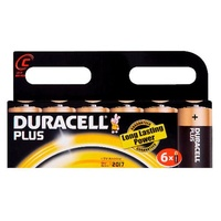 Duracell C Batteries (Pack 6)