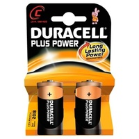 Duracell C Batteries (Pack x2)