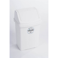 Wham Small Swing Bin 8L White