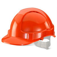 ECONOMY VENTED S/HELMET ORANGE