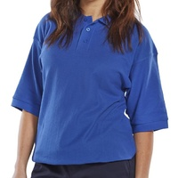 Polo Shirt Royal Blue - 4X-LARGE