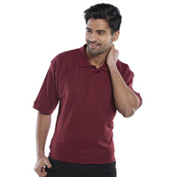 Click Polo Shirt Burgundy