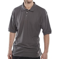Click Polo Shirt Grey