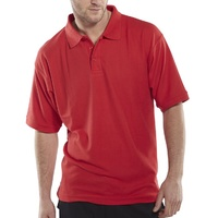 Click Polo Shirt Red