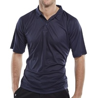 B-COOL POLO SHIRT NAVY MEDIUM