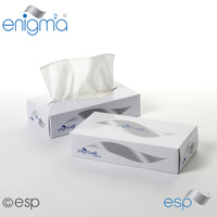 FTW136 - Luxury Facial Tissues - 2ply White x100 Tissues (Case x36 Boxes)