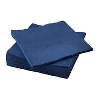 33cm Dark Blue Napkins 2ply (x2000)