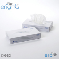 MSF100 - Luxury Mansize Facial Tissues - 2ply White x100 Tissues (Case x24)
