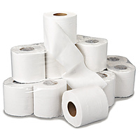 TR320-18R - Standard Toilet Rolls Twin Packs - 2ply White 320 Sheet (x36 Rolls)