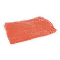 Red Laundry Contamination, Soluble Strip Bags 18x28x30 (x200 Bags)