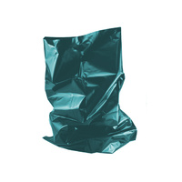 "Extra Heavy Duty Rubble Sacks 20"" x 30"" (450 Gauge) (x100 Bags) Petrol Blue"