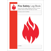 HEALTH & SAFETY FIRE SAFETY LOG BOOK