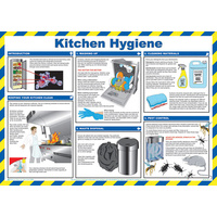 MEDICAL KITCHEN HYGIENE POSTER