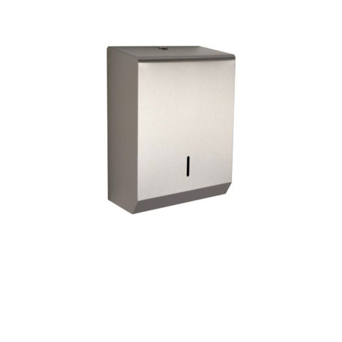 Hand Towel Dispenser - Large (Brushed Stainless Steel)