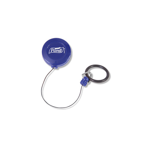 9608 - PURELL PERSONAL Gear Retractable Clip - Blue (INDIVIDUAL)