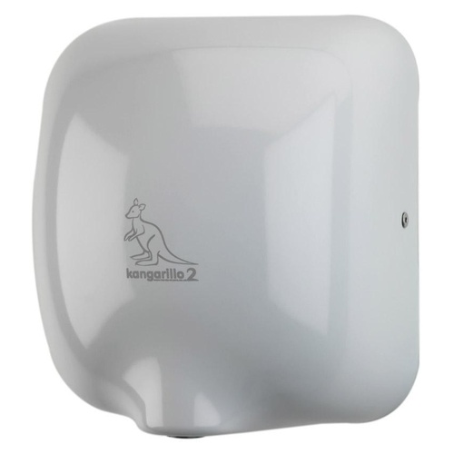 Kangarillo ECO 2 Hand Dryer - Auto Variable Heater Ultra Fast 900W / 79dB / 8-12 Seconds - WHITE