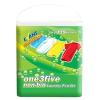 EVANS - ONE 3 FIVE - Non Bio Laundry Powder 10kg (135 Washes)
