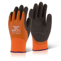 Wonder Grip Fully Coated Thermo Extra Cold Resistant Dry/Wet Grip Glove Orange EN388