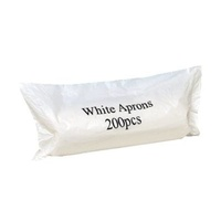 Disposable Aprons - White Roll x200